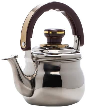 Заварочный чайник Mayer&Boch 8881 Серебристый, коричневый, золотой