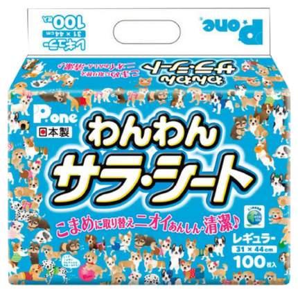 Пеленки для домашних животных Daiichi Eizai P.one средние 31х44 100 шт