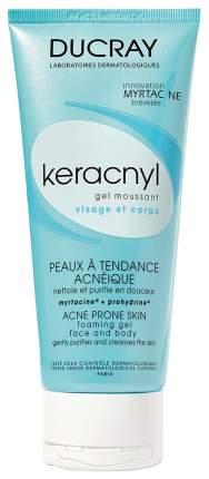 Средство для очищения Ducray Keracnyl Gel Moussant 200 мл