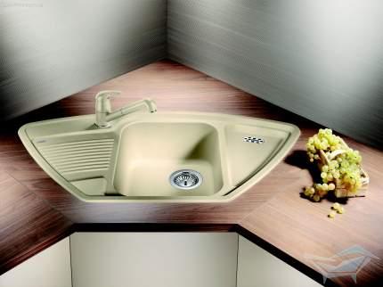 Мойка для кухни керамическая Blanco DELTA 513093 ваниль
