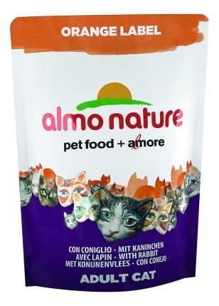 Сухой корм для кошек Almo Nature Orange Label, для стерилизованных, кролик, 0,105кг