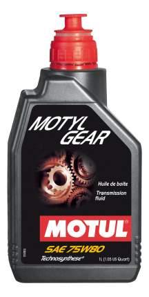 Трансмиссионное масло MOTUL 75w80 1л 105782