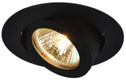 Встраиваемый светильник Arte Lamp Accento A4009PL-1BK