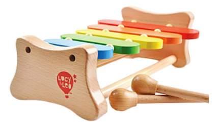 Ксилофон игрушечный Lucy & Leo 5 тонов