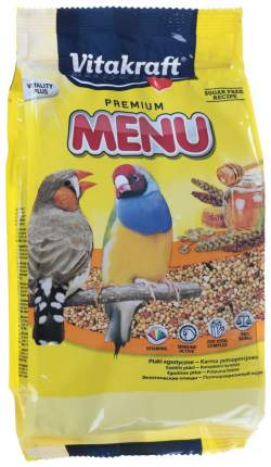 Корм для птиц Vitakraft Premium Menu Exotis для экзотических птиц 500 г