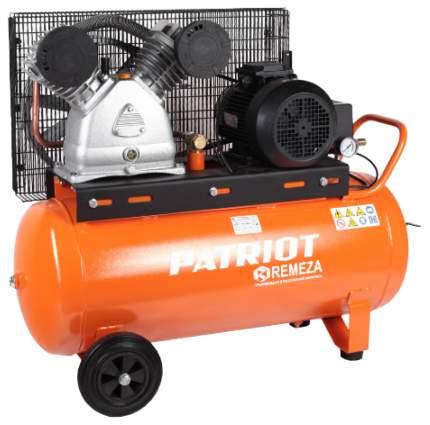 Ременный компрессор Patriot REMEZA СБ 4/С-100 LB 50 - 630 л/мин, 10 Атм, 380 В, 4,0 кВт