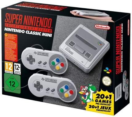 Игровая приставка Nintendo Classic Mini + 21 Игра