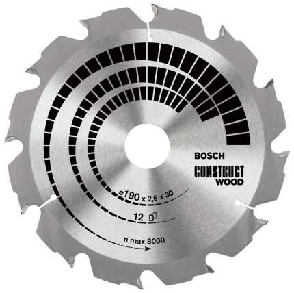 Диск по дереву Bosch STD CW 190x30-12T 2608640633