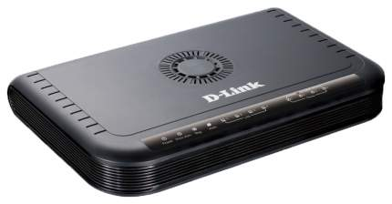 Wi-Fi роутер D-Link DVG-5004S/D1A Black