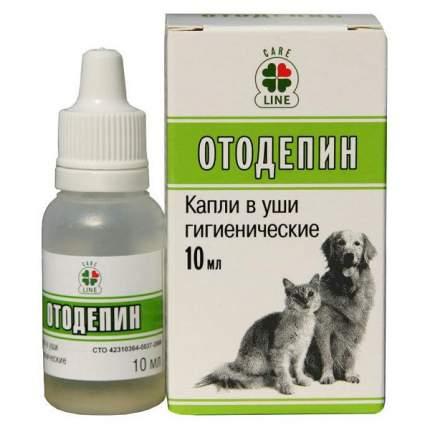 Ушные капли для кошек и собак VEDA Отодепин с экстрактом хвои, 10 мл