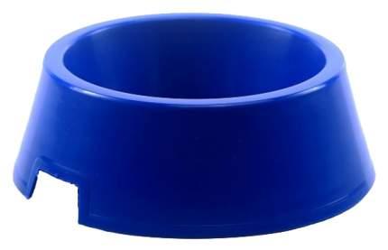 Одинарная миска для кошек и собак Зооник, пластик, в ассортименте, 0,5 л