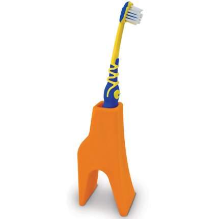 Держатель для зубных щеток j-me Giraffe оранжевый