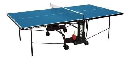Теннисный стол Donic Outdoor Roller 600 синий, с сеткой