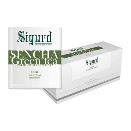 Чай зеленый Sigurd sencha 30 пакетиков