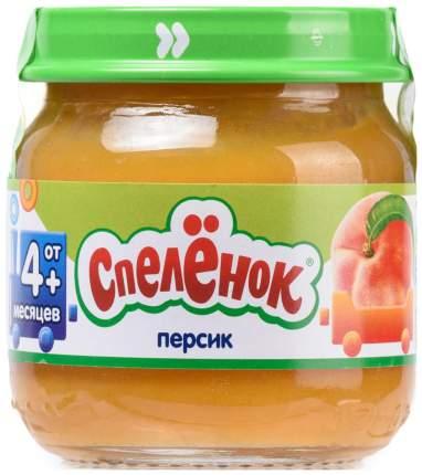 Пюре фруктовое Спелёнок Персик с 4 мес 80 г