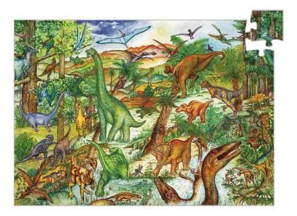 Пазл на наблюдательность Динозавры 100 элем. Djeco 7424
