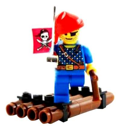Конструктор пластиковый Brick Плот