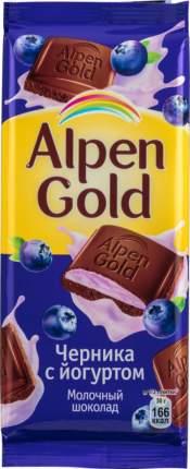 Шоколад молочный Alpen Gold черника с йогуртом 90 г