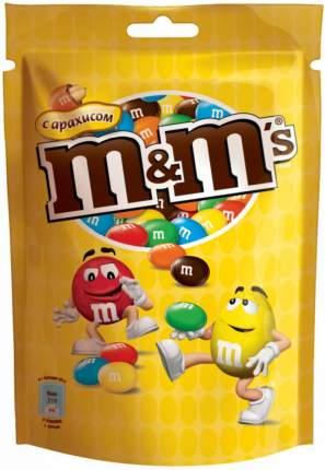 Драже M&M's  с арахисом и молочным шоколадом 130 г