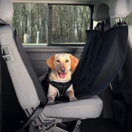Автомобильная подстилка для собак TRIXIE 135x150x серый, черный