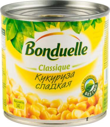 Кукуруза сладкая Bonduelle classique 340 г
