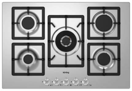 Встраиваемая варочная панель газовая Korting HG 797 CTX Silver