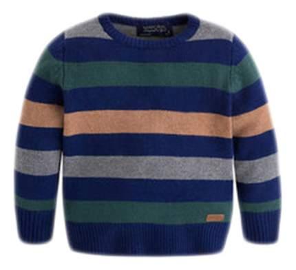 Джемпер Mayoral в полоску зеленый/синий 104 размер