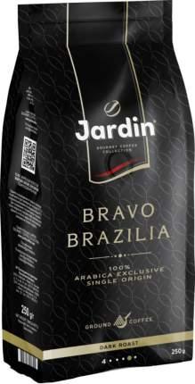 Кофе жареный молотый Jardin bravo Brazilia dark roast 250 г