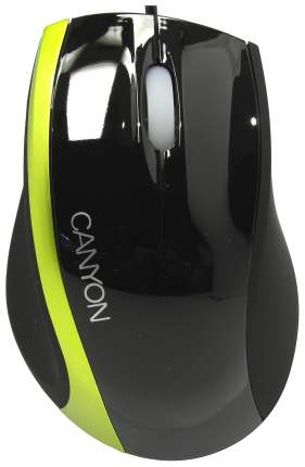 Проводная мышка CANYON CNR-MSO01NG Green/Black