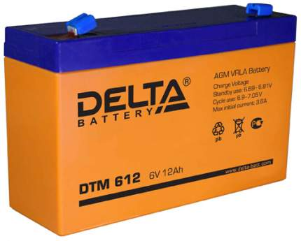 Аккумуляторная батарея DELTA DTM 612