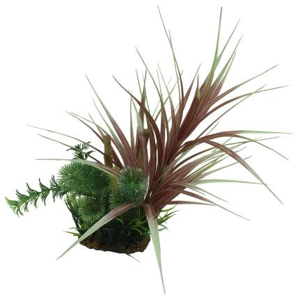 Композиция из искусственных растений ArtUniq Ophiopogon red & bamboo 20