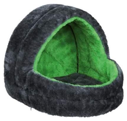 Лежанка для грызунов TRIXIE 25x25x29см, цвет серый, зеленый