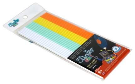 Эко-пластик к 3D ручке 3Doodler «Лед и Пламень» 24 шт, 4 цвета