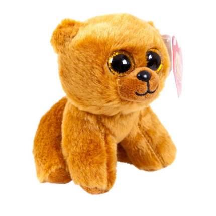 Мягкая игрушка ABtoys Медведь бурый, 14 см