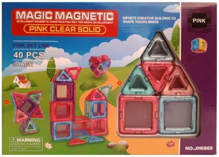 Магнитный конструктор Наша Игрушка Magic magnetic 40 элементов JH6869