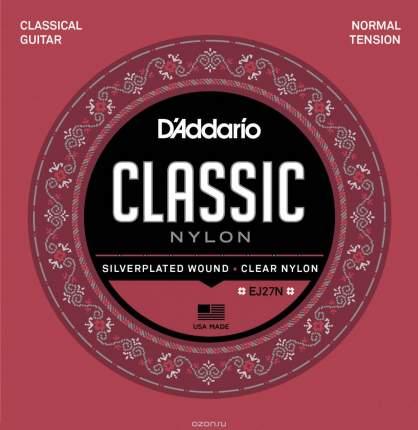 Струны для классической гитары D ADDARIO EJ27 N