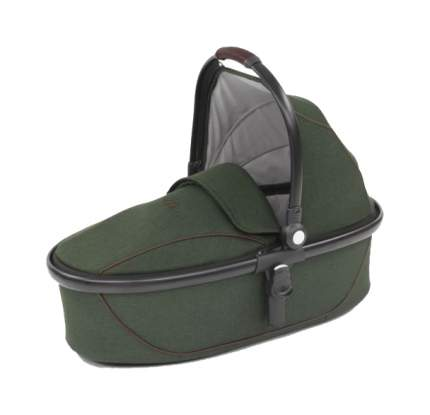 Egg люлька carrycot country green & black frame