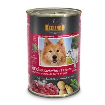 Консервы для собак BELCANDO, с говядиной, 400г