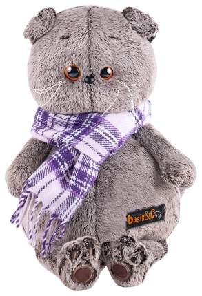Басик в фиолетовом шарфе 25 см