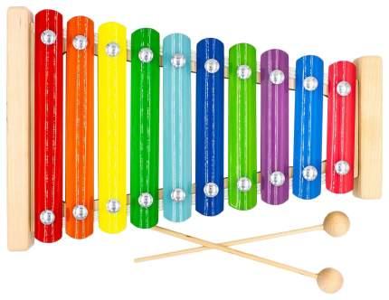 Металлофон разноцветный Aalatoys