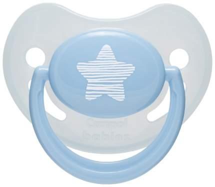 Пустышка Canpol Pastelove анатомич., силик., 0-6 мес., арт. 22/419, цвет: голубой
