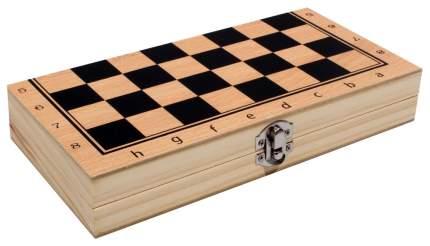 Набор 3в1 Рыжий кот Шахматы, нарды, шашки P00023