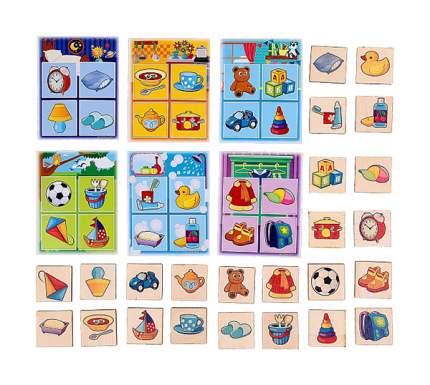 Настольная игра Лесная мастерская Предметы и игрушки