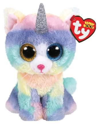 Мягкая игрушка животное TY Кошка с рогом Хизер 36250