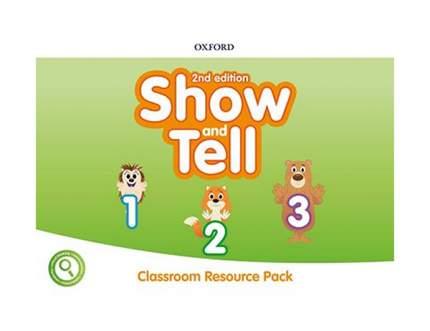 "Книга Oxford University Press ""Show and Tell: Level 1-3: Classroom Resource Pack"""