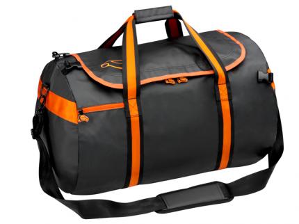 Спортивная сумка с наплечным ремнем Smart B67993577 Black/Orange
