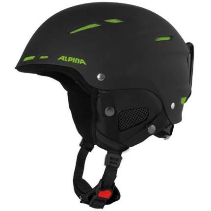 Горнолыжный шлем Alpina Biom C 2019, черный/зеленый, L