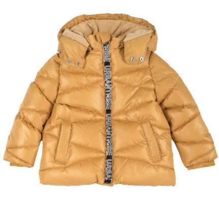 Куртка-пуховик Chicco для мальчиков р.128 цв.желтый