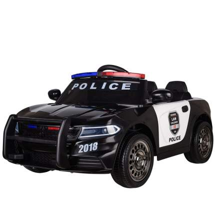 Детский электромобиль Barty Dodge Police Б007OС, Черно-белый
