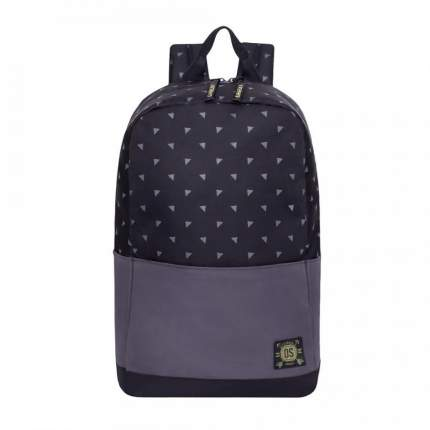 Городской рюкзак мужской Grizzly RQ-921-5 черный - серый